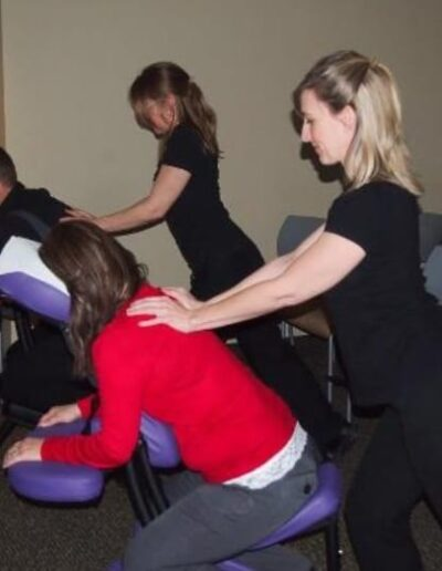 Mobile chair massage for businesses