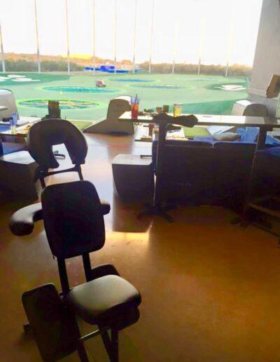Zenergy Chair Massage Golf Event