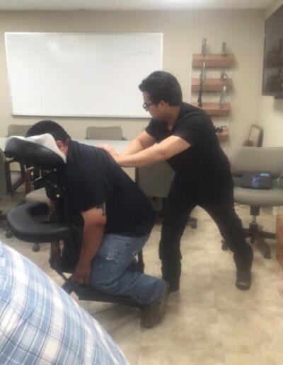 Office Chair Massage