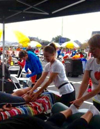 Chair Massage Event